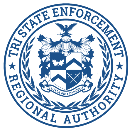 TSE - Tri State Enforcement Regional Authority Agency Seal and Logo