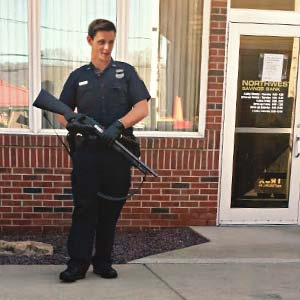 Bank Protective Security Guard