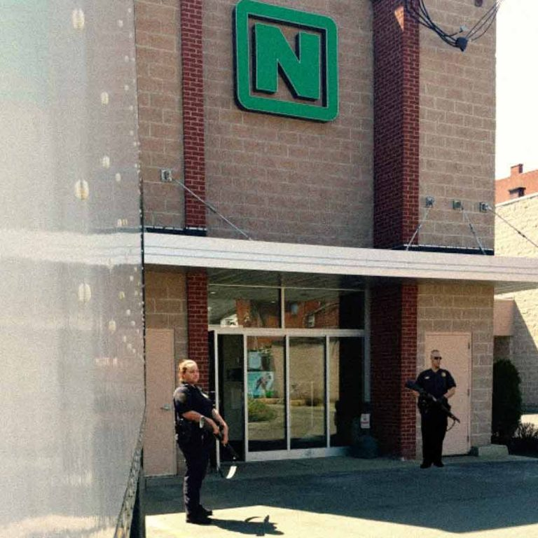 Armed Bank Security
